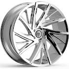 TIS 546v Chrome PVD 22x10.5 5x112 34mm (546V-2214434)