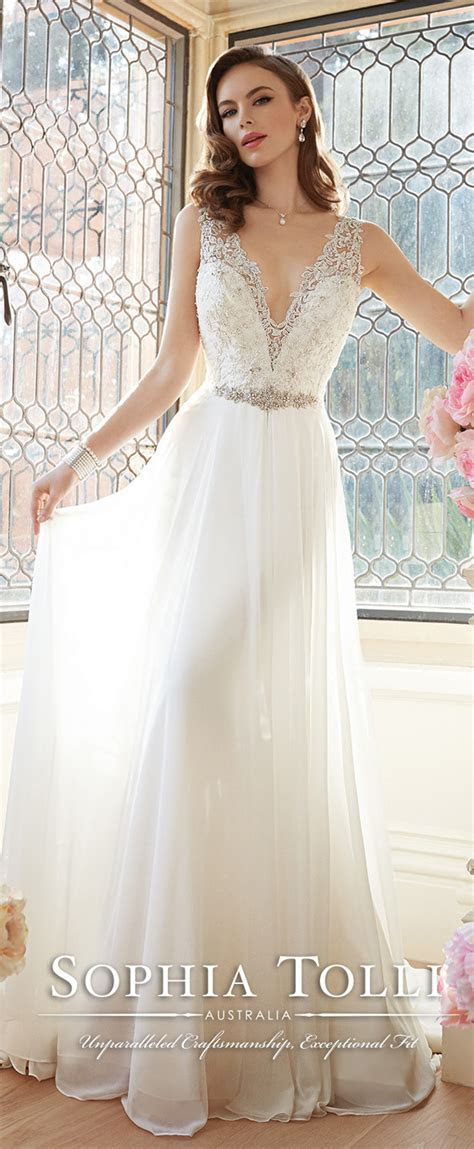 Sophia Tolli Wedding Dresses Spring 2016 Bridal Collection