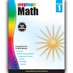 Carson Dellosa CD-704561 Spectrum Math Gr 1