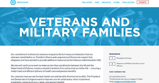 DNC site mistakes foreign vets for former U.S. troops