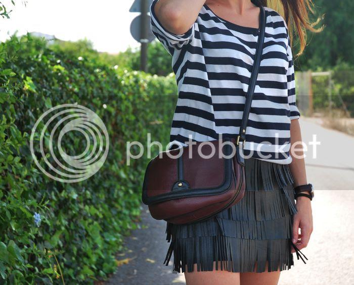 Leather Skirt StreetStyle