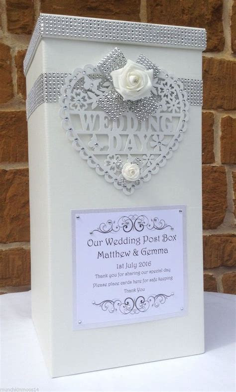 Best 25  Wedding Card Boxes ideas on Pinterest   Gift card
