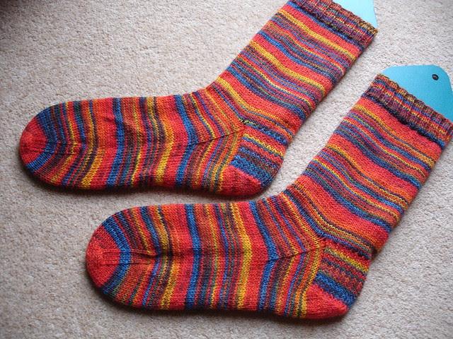 Michael's stripy socks number 3