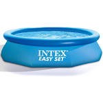 """Intex 10' x 30"""" Easy Set Inflatable Pool & Filter Pump (2 Pack) & Cover (2 Pack)"""
