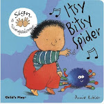 Cicso Independent B1275 Sign & Sing along - Itsy Bitsy Spider Board Book