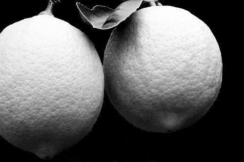 Lemons in Black & White by Old Jingleballicks