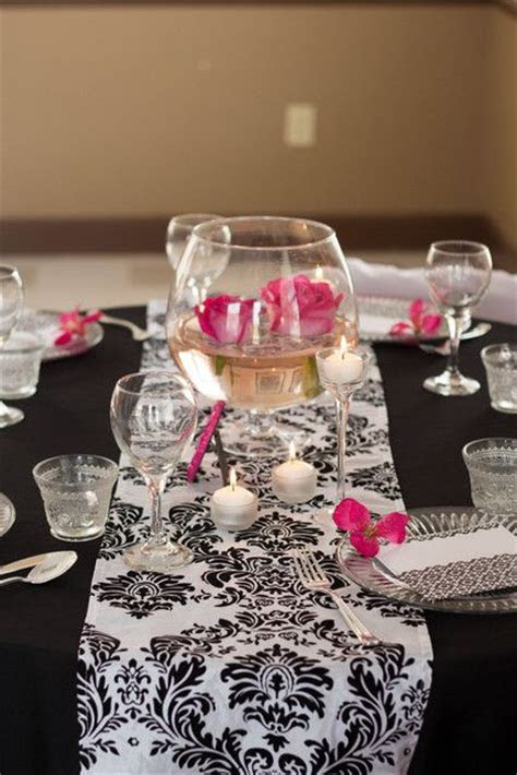 92 best Pink and black wedding ideas images on Pinterest