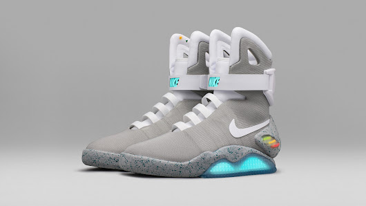 The Nike Mag Self-Lacing Sneakers Are Finally Here, but They're Only Making 89 Pairs