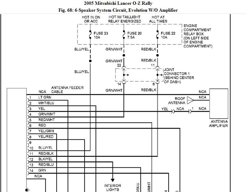 Diagram 2006 Mitsubishi Lancer Stereo Wiring Diagram Full Version Hd Quality Wiring Diagram Pdfxwaynen Trkbrd It