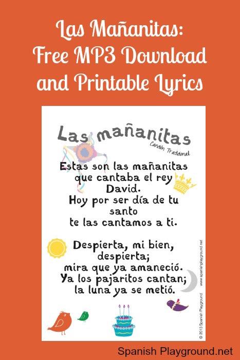 Spanish Songs Lyrics