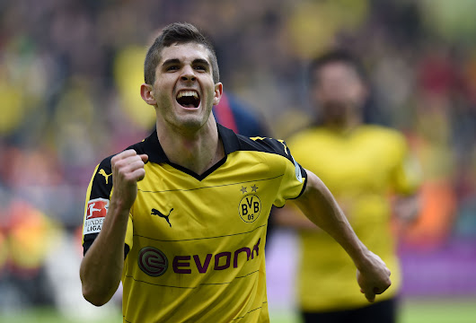 At 17, Christian Pulisic does what no one has with U.S. Soccer and in Bundesliga