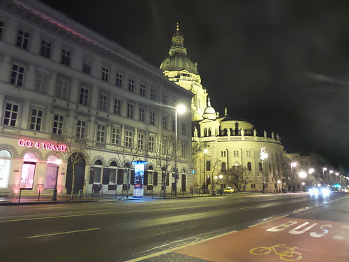 Budapest by Night, Bajcsy-Zsilinszky 16 by Ylbert Durishti