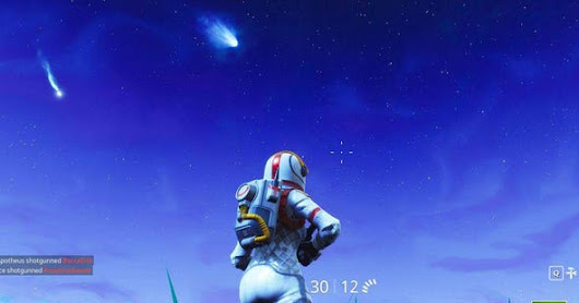 Why Are Meteors Falling From Sky In 'Fortnite?' Here's Another Theory