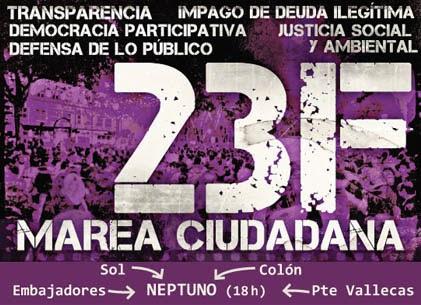 #23F MAREAS CIUDADANAS