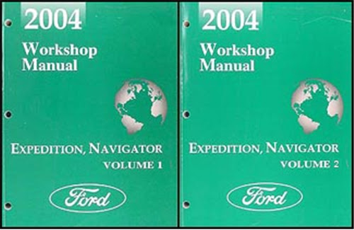 Diagram 2004 Lincoln Navigator Ford Expedition Service Manual Two Volume Setand The Wiring Diagrams Manual Full Version Hd Quality Diagrams Manual Diagrambyatth Arcat It