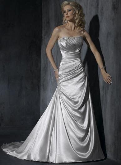 silver wedding dresses   Silver wedding dress,A Line