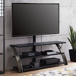 Whalen Payton 3-in-1 Flat Panel TV Stand for TVs Up to 65 inch, Multiple Finishes Available, Size: 23-55