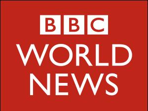 Deutsch: Logo des Fernsehsenders BBC World News.
