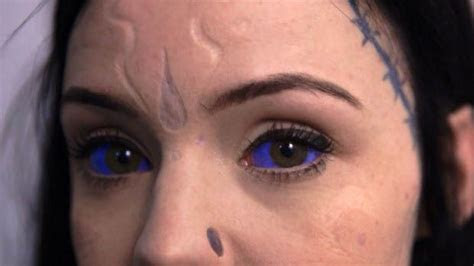 tattooed eyeballs inked inkedmag tattoo eye eyeballs