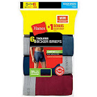 Hanes Men's Tagless Boxer Brief with Comfort Flex Waistband - 6 pack