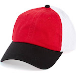 Alternative H0102H Bandit Ball Cap OS Red/Black