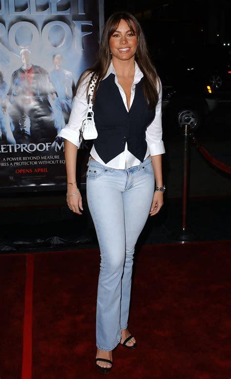 Fashion Flashback   Sofia Vergara Then & Now   Celebrity