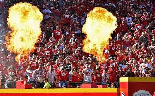 We can be loud at Arrowhead without danger