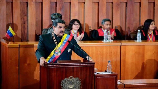 """2017 """"será un buen año en todos los campos de la sociedad"""", aseveró el presidente Maduro."""