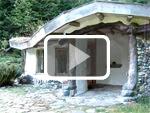 The Butiful cob meditation sanctuary at Hollyhock