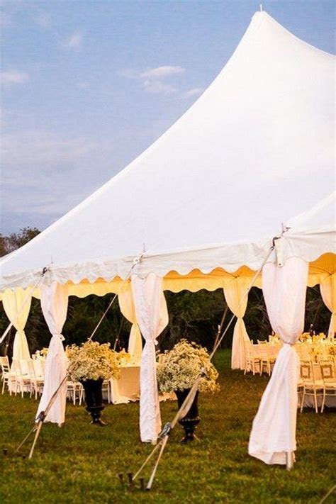 30 Chic Wedding Tent Decoration Ideas   Wedding tent