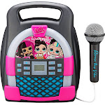 KIDdesigns - LOL Surprise! Bluetooth MP3 Karaoke - black