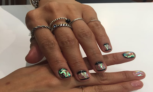 The Next Nail Trend From #GlassNails Artist Is Just as Instagram Worthy