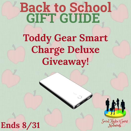 Welcome to the Toddy Gear smart Charge Deluxe Giveaway! Ends 8/31