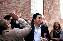 Andrew Yang is running for President to save America from the robots – TechCrunch