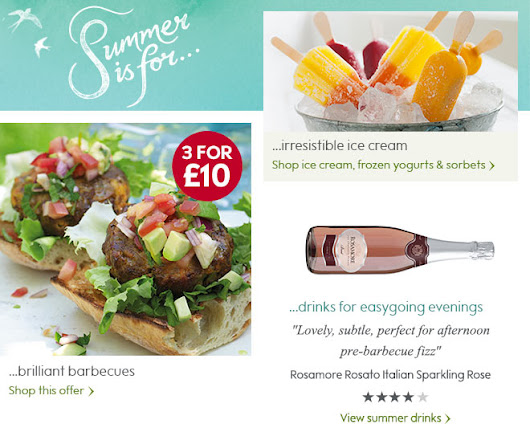 Summer Eating - Waitrose