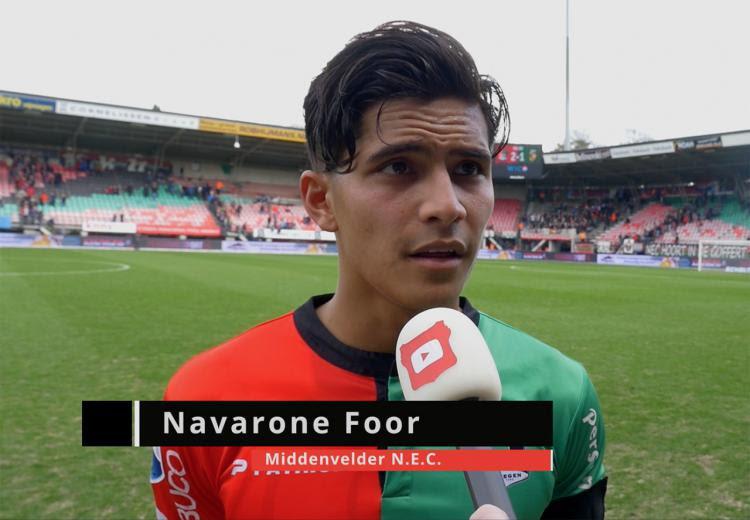 Navarone Chesney Kai Foor, pemain Belanda berdarah Ma   luku, Indonesia Copyright: internet