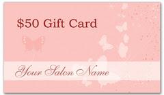 CPS-1020 - salon coupon card