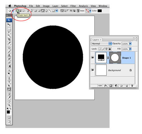 Trendy Circle Brush in Photoshop image 2