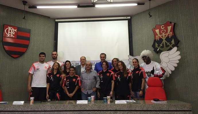 Anjo Rubro-Negro Flamengo (Foto: Thiago Quintella)