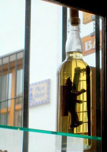 Submarinismo en una botella