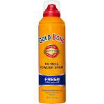 Gold Bond No Mess Powder Spray, Fresh Scent with Aloe - 7 oz can