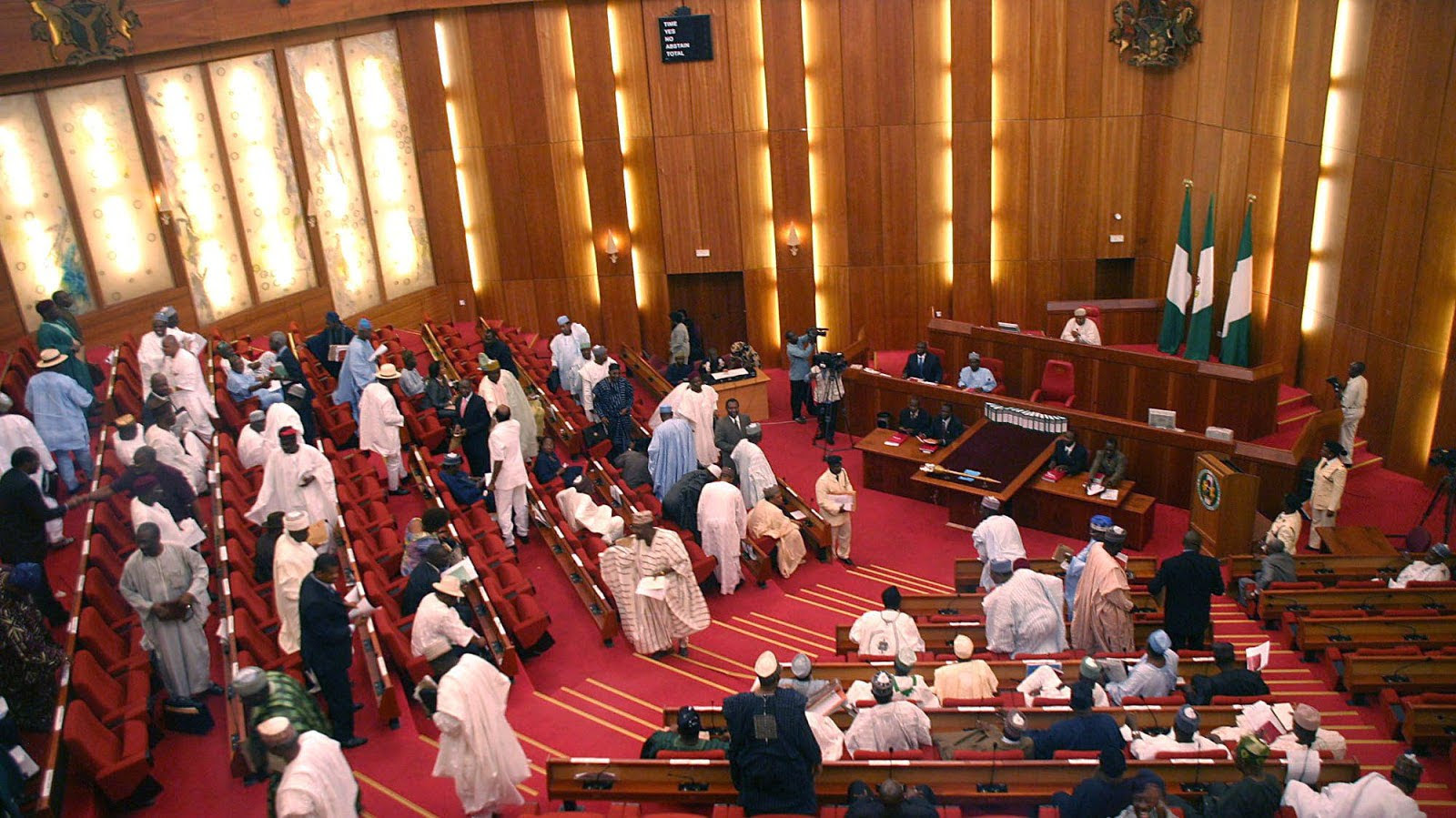 Senators donate 1,260 bags of rice, other relief materials to Kogi civil servants