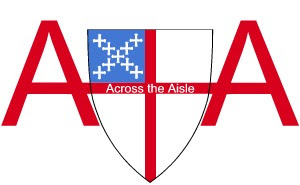 Across the Aisle logo with embedded name