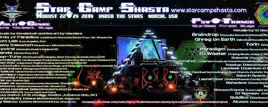 Star Camp Shasta - Aug 22-24, 2014 - Under the Stars - NorCal, USA