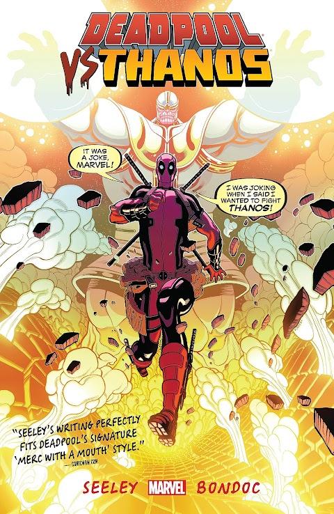 Deadpool Vs Thanos Comic Book
