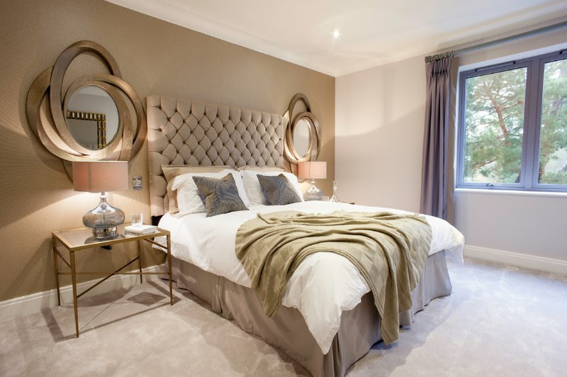 10 Master Bedrooms with Gold Accent Décor - Master Bedroom ...