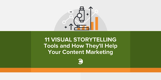 11 Visual Storytelling Tools and How They'll Help Your Content Marketing | brandjournalism
