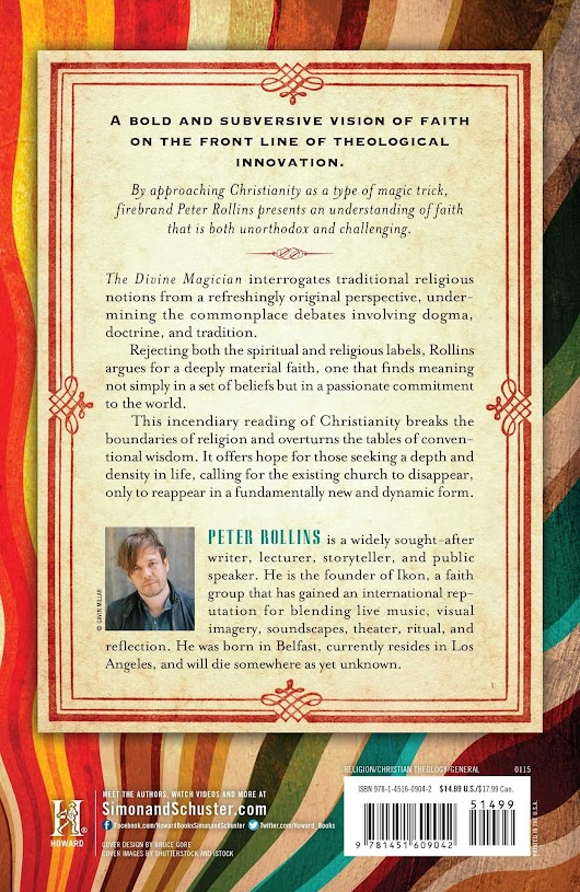 book report: The Divine Magician by Peter Rollins (2015)