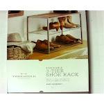 Threshold Stackable 3-Tier Shoe Rack - New