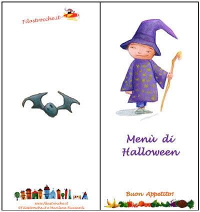 Menù per le feste di Halloween di Filastrocche.it